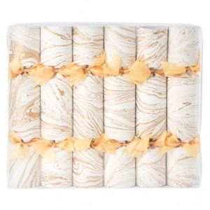 Gold Marble Effect Crackers £95 - Conran Shop