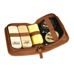 Gents Hardware shoe polish kit by Until, $44.95, from Hard to Find.