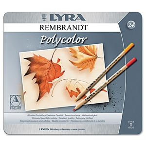 Lyra Artist Colored Woodcase Pencils, 24 Per Pack by: Dixon® Ticonderoga, $65.79, from Wayfair.