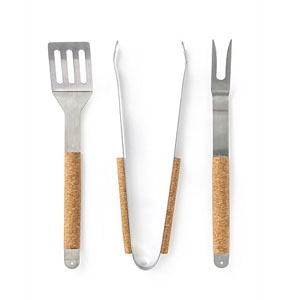 Cork BBQ Utensils, $79.95, from Country Road.