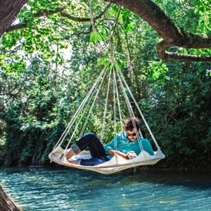 TiiPii Bed Spacious central hanging style hammock designed for comfort. AU$369