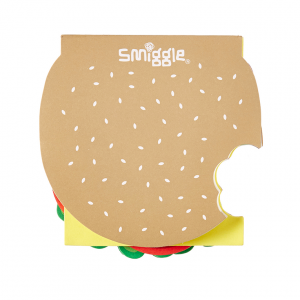 Hamburger jotter, $9.95, from Smiggle.
