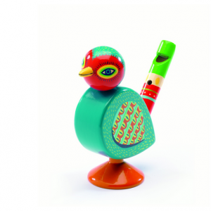 Djeco Animambo Whistle, $13.94, from Little Citizens Boutique.