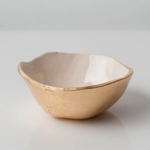 Upintheairsomewhere's Tiny Gold Bottom Dish AU$40.40 - Etsy