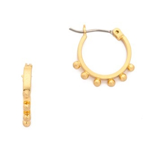 Madewell vintage gold hoop earrings AU$23.72 - Shopbop