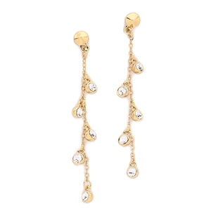 Rebecca Minkoff Five Stone Linear Earrings AU$47.45 - Shopbop