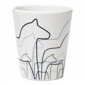 Dala horse cup, £9, from Violet and Percy.