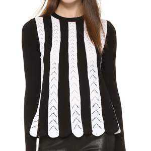 RED Valentino Sweater with Crochet Detail, $557.78, from Shopbop.