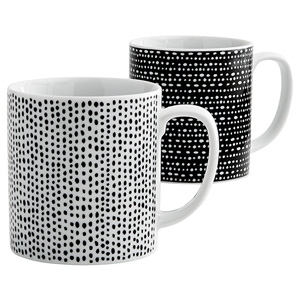 Set of 4 Jaspa Mugs, $10, from Target Australia.