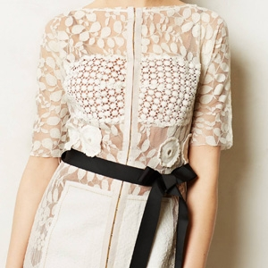 Carissima Sheath by Byron Lars,  $258, from Anthropologie.