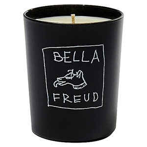 BELLA FREUD Signature candle, £40, from Selfridges.