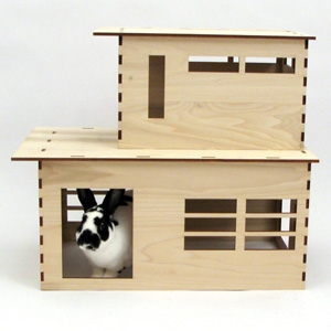 Habifab The Modernist play house for rabbits AU$209.12 - Etsy
