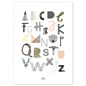 ABC Poster by Anny Who $29.95 - This Little Love