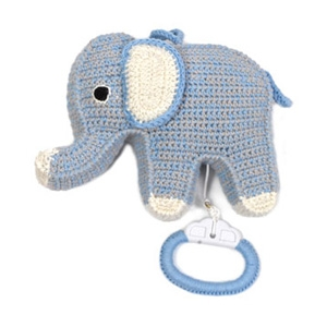 ANNE-CLAIRE PETIT ELEPHANT MUSIC BOX $69 - Kido Store