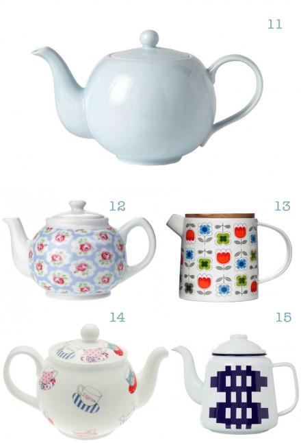 The Wee Birdy Buyer's Guide to the Top 20 Tea Pots via WeeBirdy.com