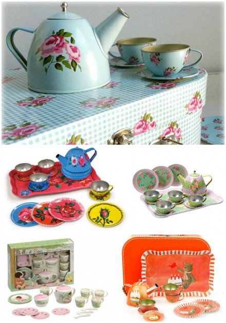 Children's tea sets via WeeBirdy.com