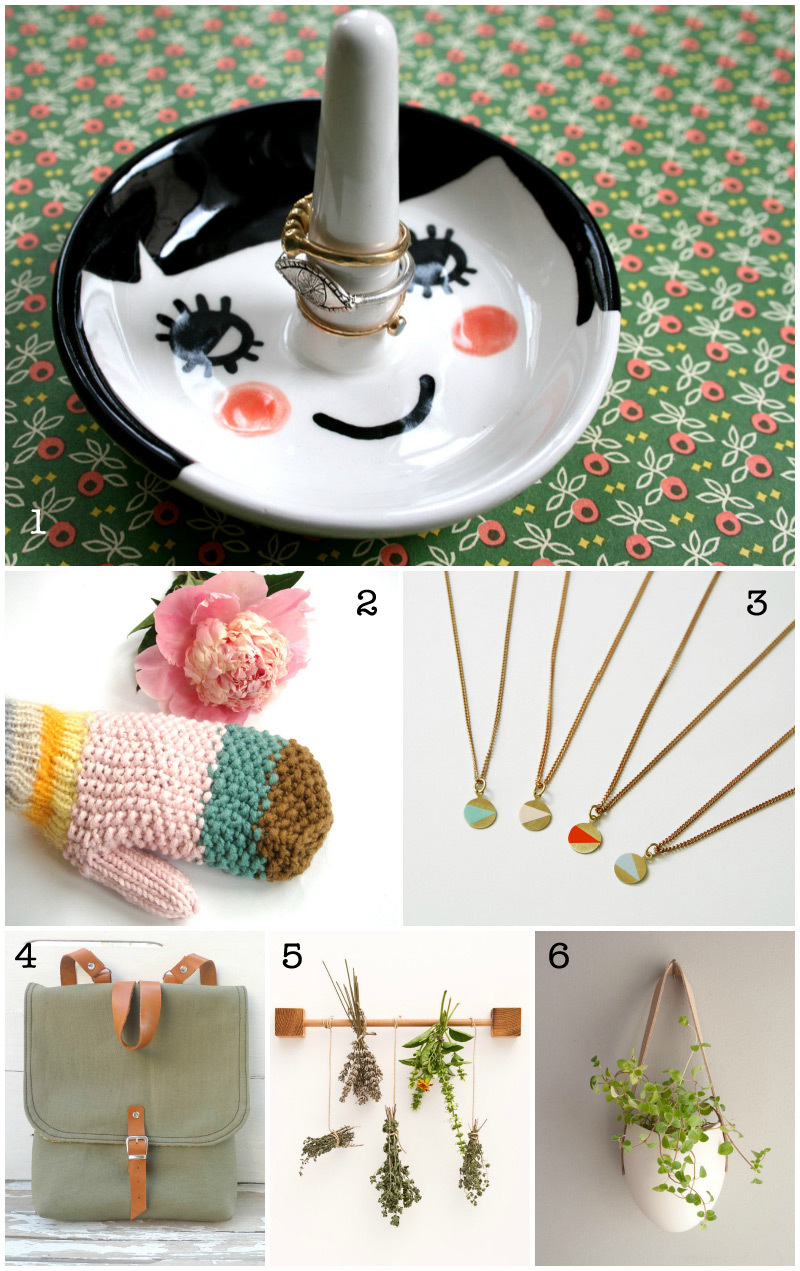 Christmas Etsy Gift Guide via WeeBirdy.com