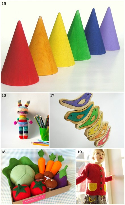 Etsy Christmas Gift Guide for Babies and Kids via WeeBirdy.com