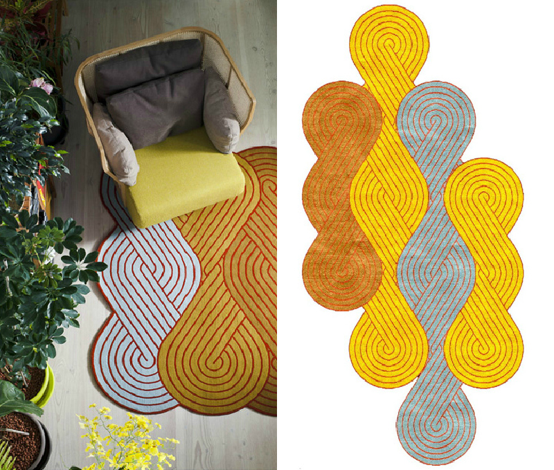 Loom Rugs via WeeBir