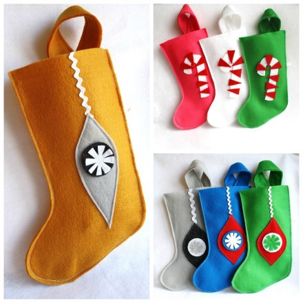 Rikrak Christmas stockings via WeeBirdy.com