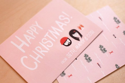 Ello There Christmas cards