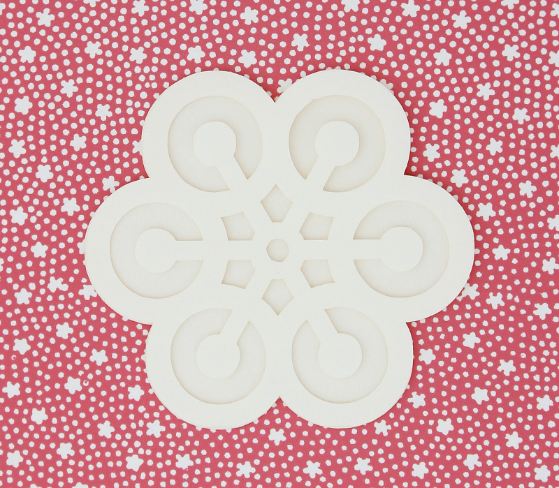 Snowflake card from uponafold via WeeBirdy.com