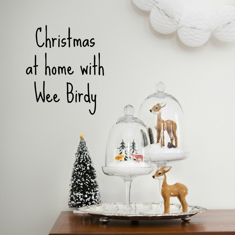 Christmas at home with WeeBirdy.com