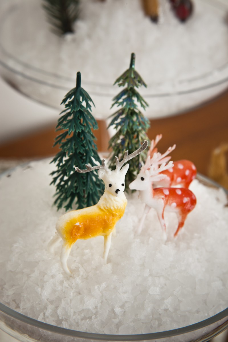 Miniature winter wonderland via WeeBirdy.com