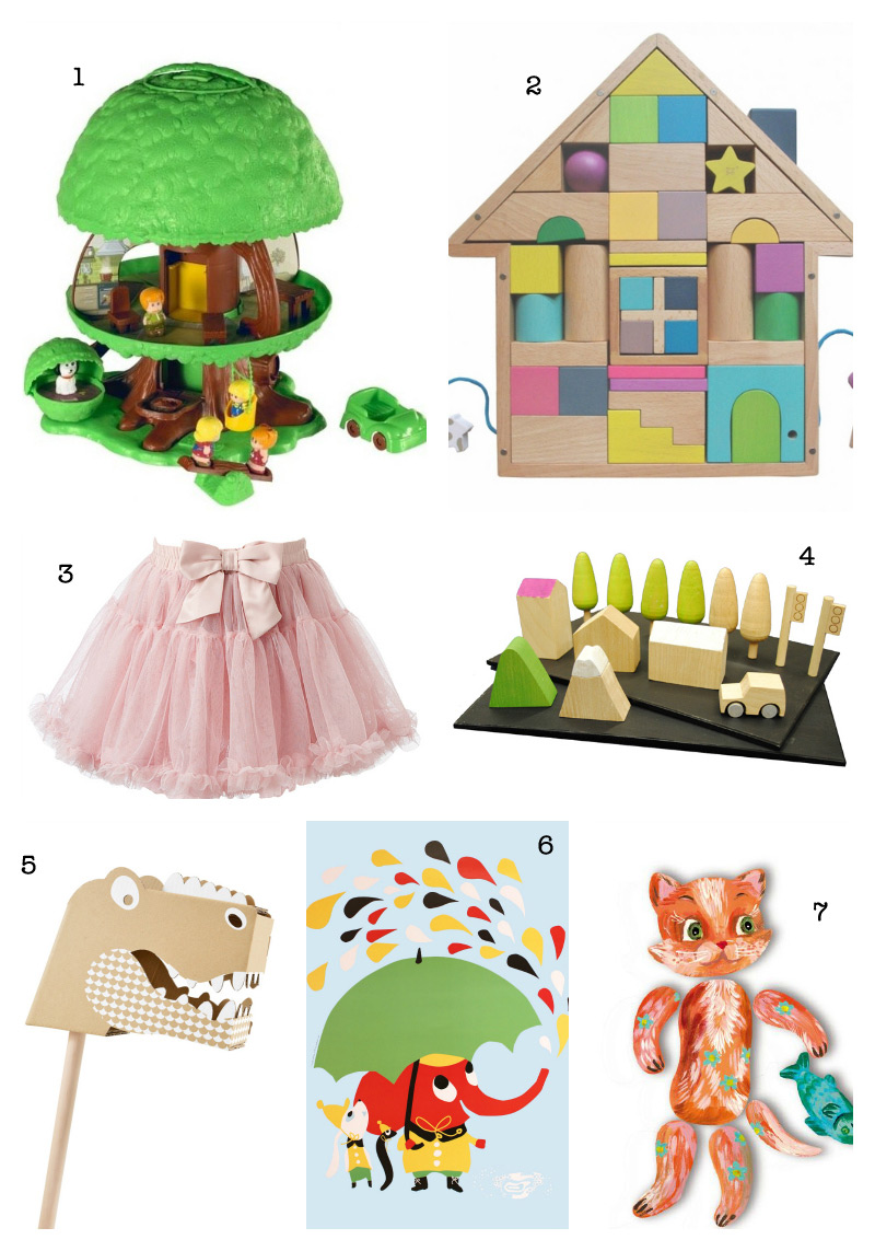 Christmas Gift Guide 2012: Kids Presents via WeeBirdy.com