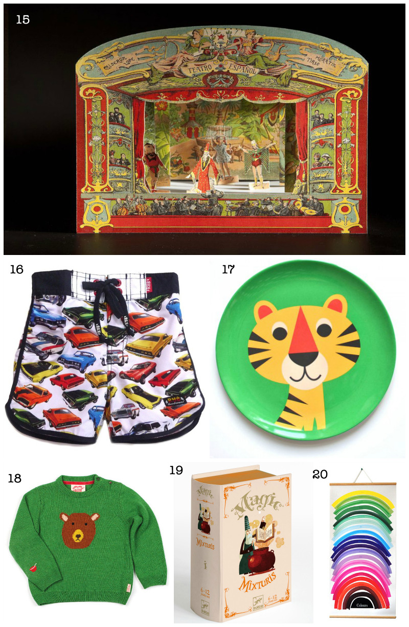 Christmas Gift Guide: Kids Presents via WeeBirdy.com
