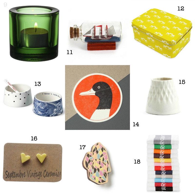 Christmas Gift Guide: 30 presents under $30 via WeeBirdy.com