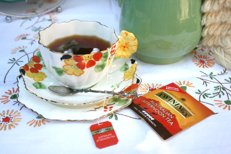 A vintage Aussie afternoon tea via WeeBirdy.com