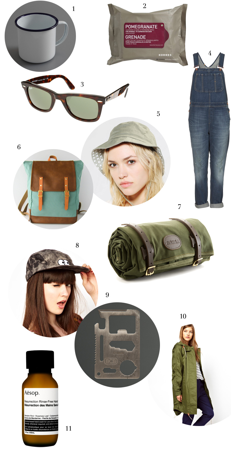 Festival and Camping Essentials via WeeBirdy.com