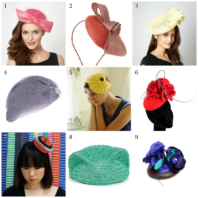 Best summer hats 2013 for races and weddings via WeeBirdy.com