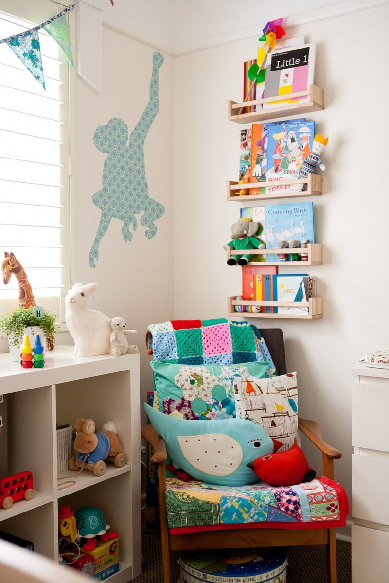 Harry's nursery room tour via WeeBirdy.com