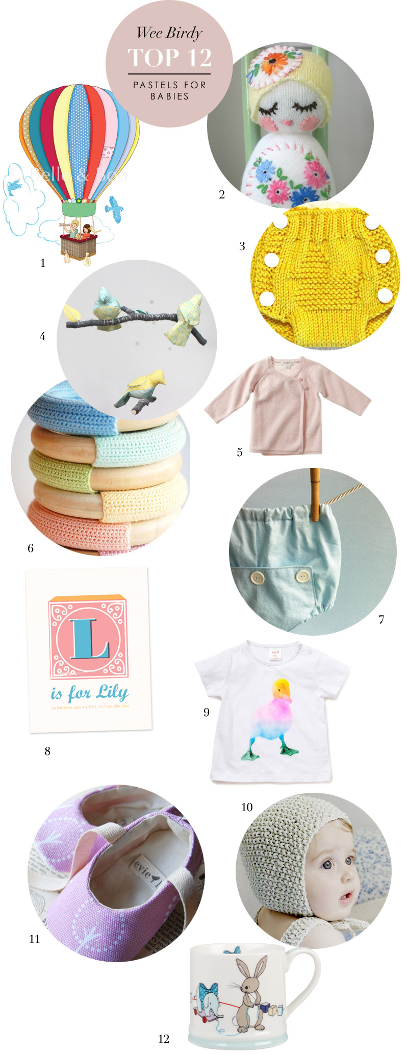 12 best baby presents via WeeBirdy.com