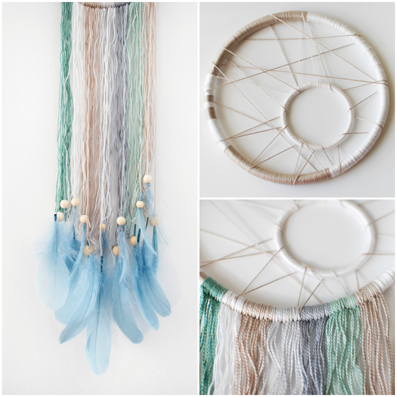 The gallery for how to make a dreamcatcher step by step for How to make dreamcatchers