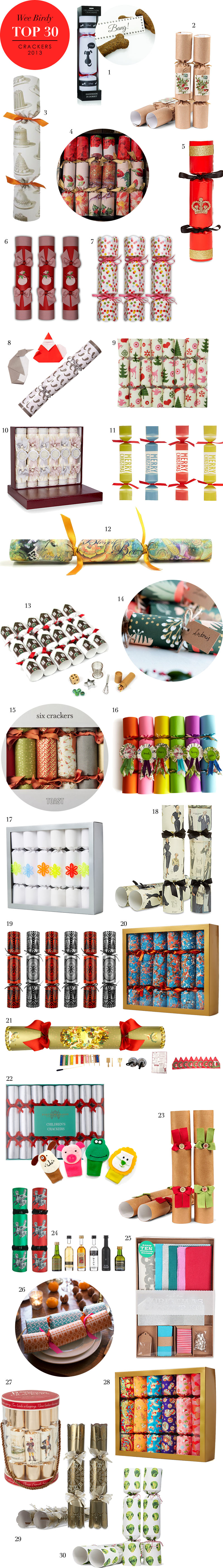 Best 30 Christmas Crackers 2013