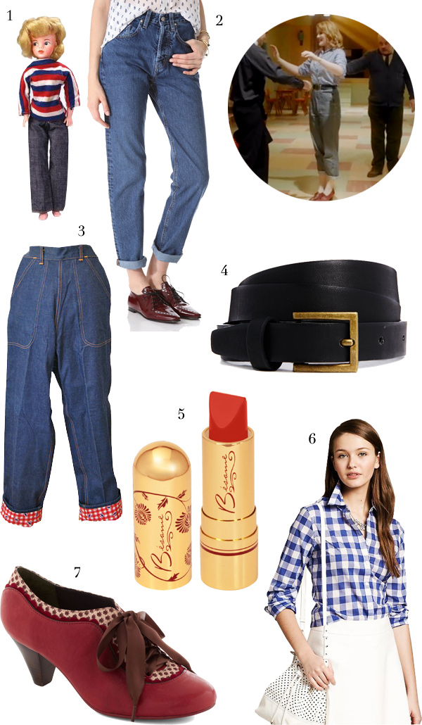 Get Patsy's Rockabilly look from Call the Midwife, via WeeBirdy.com