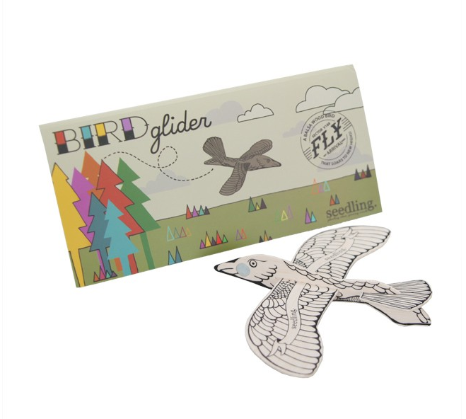 Seedling Fly High Bird Glider via Wee Birdy