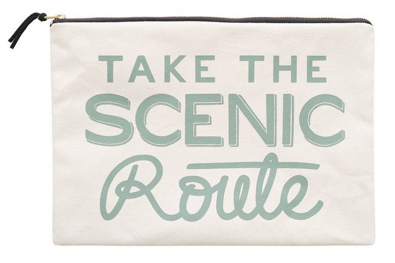 Take the Scenic Route Travel Bag by Alphabet Bags via WeeBirdy.com