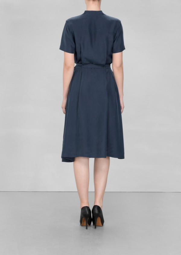 A-line silk dress, £95 from & OTHER STORIES, via WeeBirdy.com