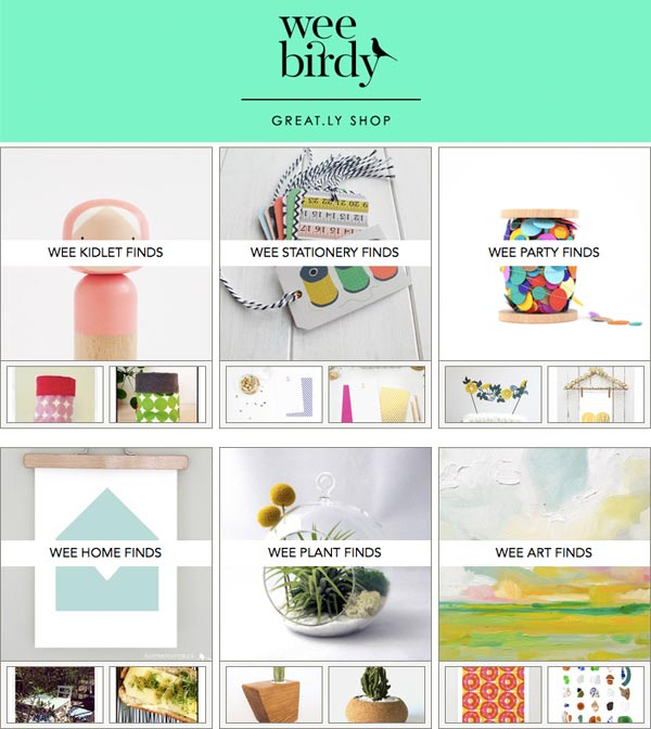 Wee Birdy Great.ly Boutique