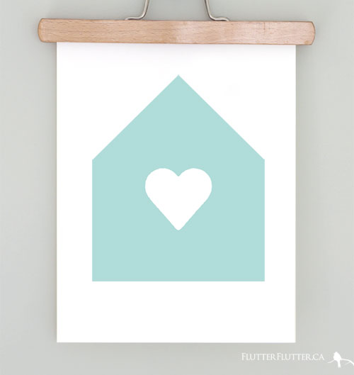 21 Affordable Art Works for Your Walls via WeeBirdy.com.