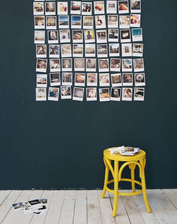 Holiday at Home by Mr Jason Grant: Home decorating with polaroids, via WeeBirdy.com.