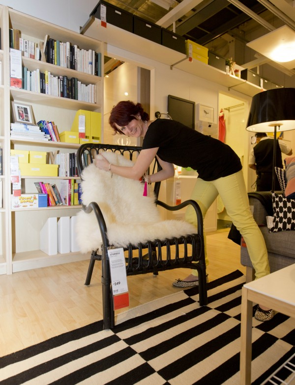 Styling the 'inner city chic' accommodation at Airbnb at IKEA, via WeeBirdy.com