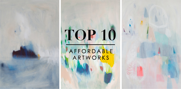 Top 10 Affordable Artworks via WeeBirdy.com.