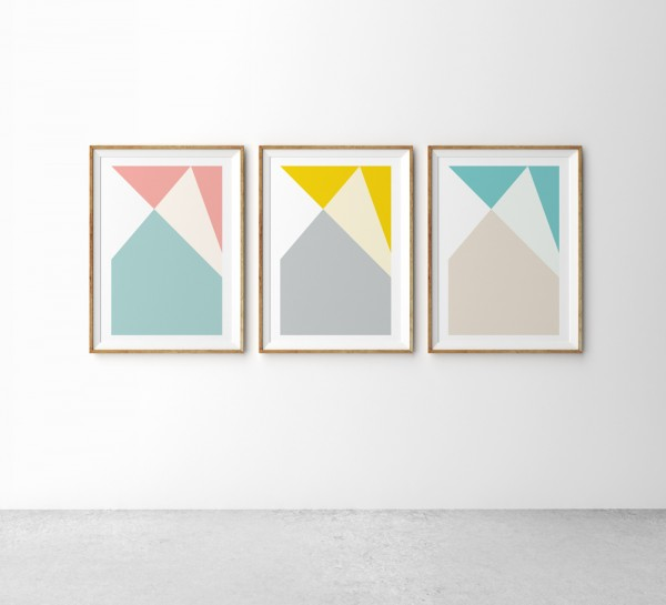 21 Affordable Art Works for Your Walls, via WeeBirdy.com.
