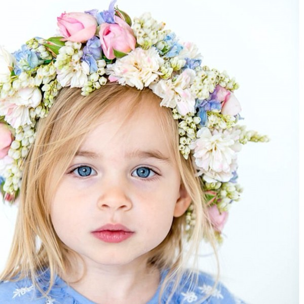 A sweet flower fairy by Fleur florist in Armadale, Victoria. Photography by Red Rabbit Photography.