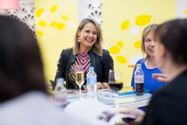 Shaynna Blaze at last year's Grand Designs Live Show. Photography courtesy of Grand Designs Live.